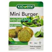 Kioene, Mini burger vegetale agli spinaci 200 g