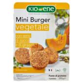 Kioene, Mini burger vegetale con semi di zucca e di girasole 200 g