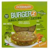 Zerbinati, Burger'Z quinoa broccoli zucchine conf. 2x110 g
