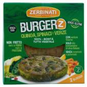 Zerbinati, Burger'Z quinoa spinaci verze conf. 2x110 g
