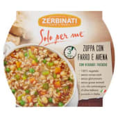 Zerbinati, Solo per Me zuppa con farro e avena 310 g