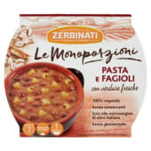 Zerbinati, Le Monoporzioni pasta e fagioli 310 g