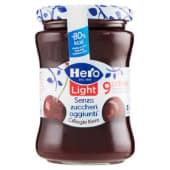 Hero, Light confettura di ciliegie nere 280 g