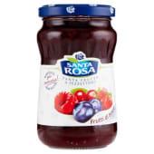 Santa Rosa, confettura extra di frutti di bosco 350 g