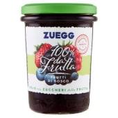 Zuegg, 100% da frutta confettura extra di frutti di bosco 250 g