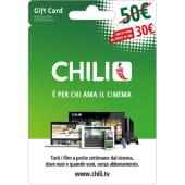 CHILI Gift Card da 50 Euro