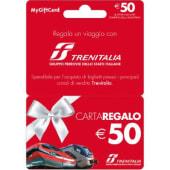 TRENITALIA Gift Card da 50 Euro