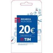 Tim Ricarica telefonica virtuale da 20 Euro