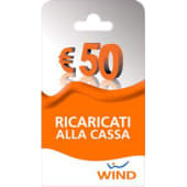 Wind Ricarica telefonica virtuale da 50 euro