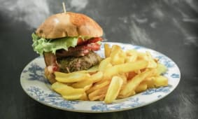 Bacon Burger Medio (220 gr)