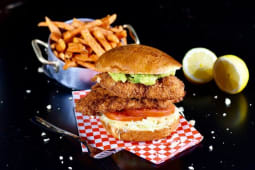 F.L.C.B. (Fried Lime Chicken Burger)