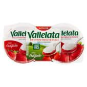 Vallelata, ricottine fresche dolci con fragole conf. 2x90 g