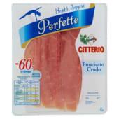 Citterio, Perfette prosciutto crudo a fette 70 g