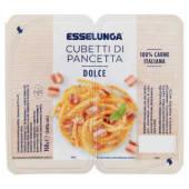 Esselunga, cubetti di pancetta dolce conf. 2x80 g