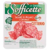 Citterio, Sofficette L'Originale salame di Milano a fette 60 g