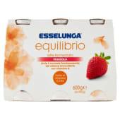 Esselunga Equilibrio, latte fermentato fragola conf. 6x100 g
