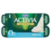 Danone, Activia 0% grassi latte fermentato naturale conf. 8x125 g