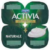 Danone, Activia latte fermentato naturale conf. 4x125 g