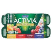 Danone, Activia latte fermentato frutta in pezzi conf. 8x125 g
