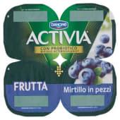 Danone, Activia Frutta latte fermentato con mirtillo in pezzi conf. 4x125 g