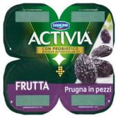 Danone, Activia Frutta latte fermentato con prugna in pezzi conf. 4x125 g