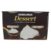 Esselunga, Dessert al cioccolato con panna montata conf. 4x115 g