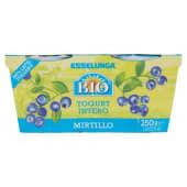 Esselunga Bio, yogurt intero al mirtillo biologico conf. 2x125 g