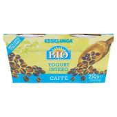 Esselunga Bio, yogurt intero al caffè biologico conf. 2x125 g
