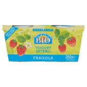 Esselunga Bio, yogurt intero alla fragola biologico conf. 2x125 g