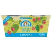 Esselunga Bio, yogurt intero al lampone biologico conf. 2x125 g