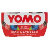 Yomo, yogurt 100% Naturale ai frutti di bosco conf. 2x125 g
