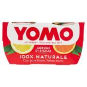 Yomo, 100% Naturale yogurt agli agrumi di Sicilia conf. 2x125 g