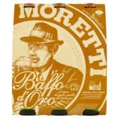 Moretti, Baffo d'Oro birra conf. 3x33 cl