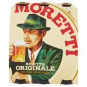 Moretti, Ricetta Originale birra conf. 6x33 cl
