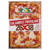 Italpizza, 26x38 cm pizza Salamino e Provolone surgelata 510 g