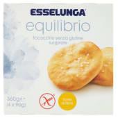 Esselunga Equilibrio, focaccine senza glutine surgelate conf. 4x90 g