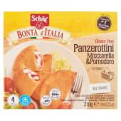 Schär, Bontà d'Italia panzerottini mozzarella & pomodoro senza glutine surgelati conf. 4x52,5 g