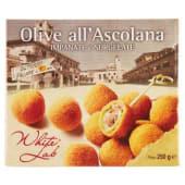 White Lab, olive all'ascolana impanate e surgelate 250 g