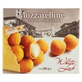 White Lab, mozzarelline impanate e surgelate 250 g