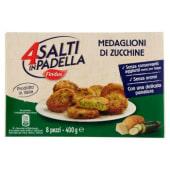 Findus, 4 Salti in Padella medaglioni di zucchine surgelati 400 g