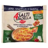 Findus, 4 Salti in padella Ravioli ricotta e spinaci al pomodoro surgelati 550 g