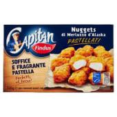 Findus, Capitan nuggets di merluzzo d'Alaska surgelati 245 g