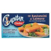 Findus, 10 Bastoncini di salmone surgelati 250 g