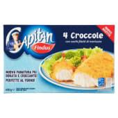 Findus, Capitan 4 Croccole surgelate 400 g