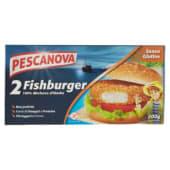 Pescanova, Fishburger impanati e surgelati senza glutine 200 g