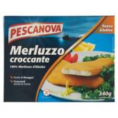 Pescanova, merluzzo panato surgelato 340 g