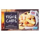 Vis, Fish & Chips surgelato 400 g