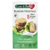 Cuor di Bontà, Burger vegetale ceci spinaci fiocchi d'avena surgelato 150 g