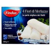 Findus, 4 fiori di merluzzo 300 g