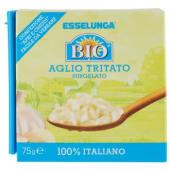 Esselunga Bio, aglio tritato biologico surgelato 75 g